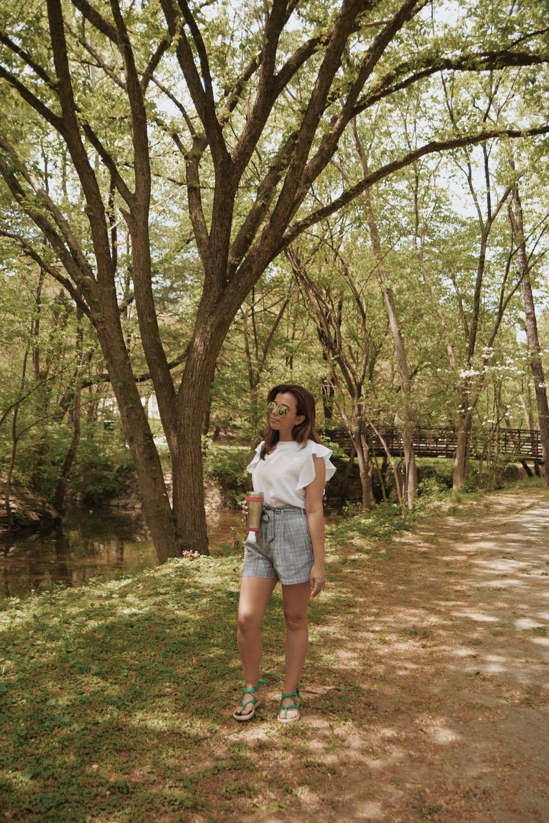 Sunday Vibes by Mari Estilo Wearing:  Tshirt: LightInTheBox   Shorts: SheIn   Sandals: Nalho