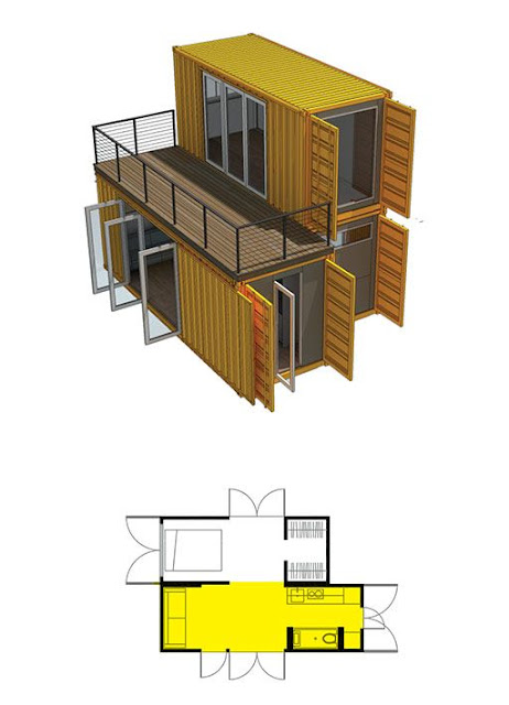 Container Homes Design 1