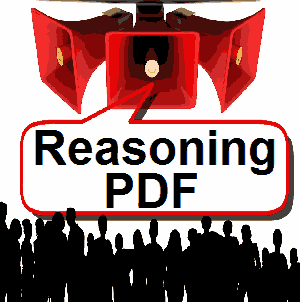 reasoning hand written notes pdf file in Hindi