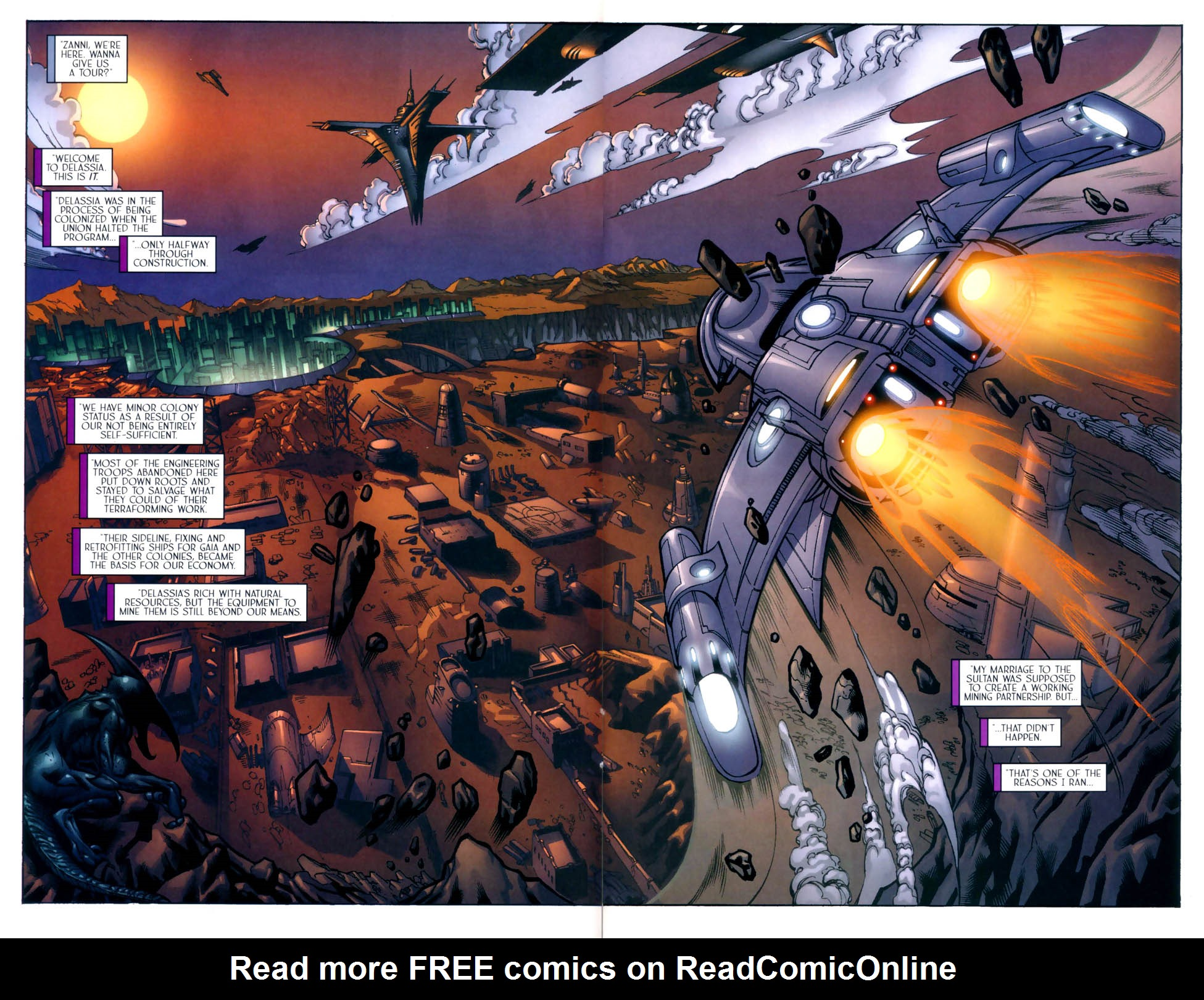 Read online Sigil (2000) comic -  Issue #8 - 12