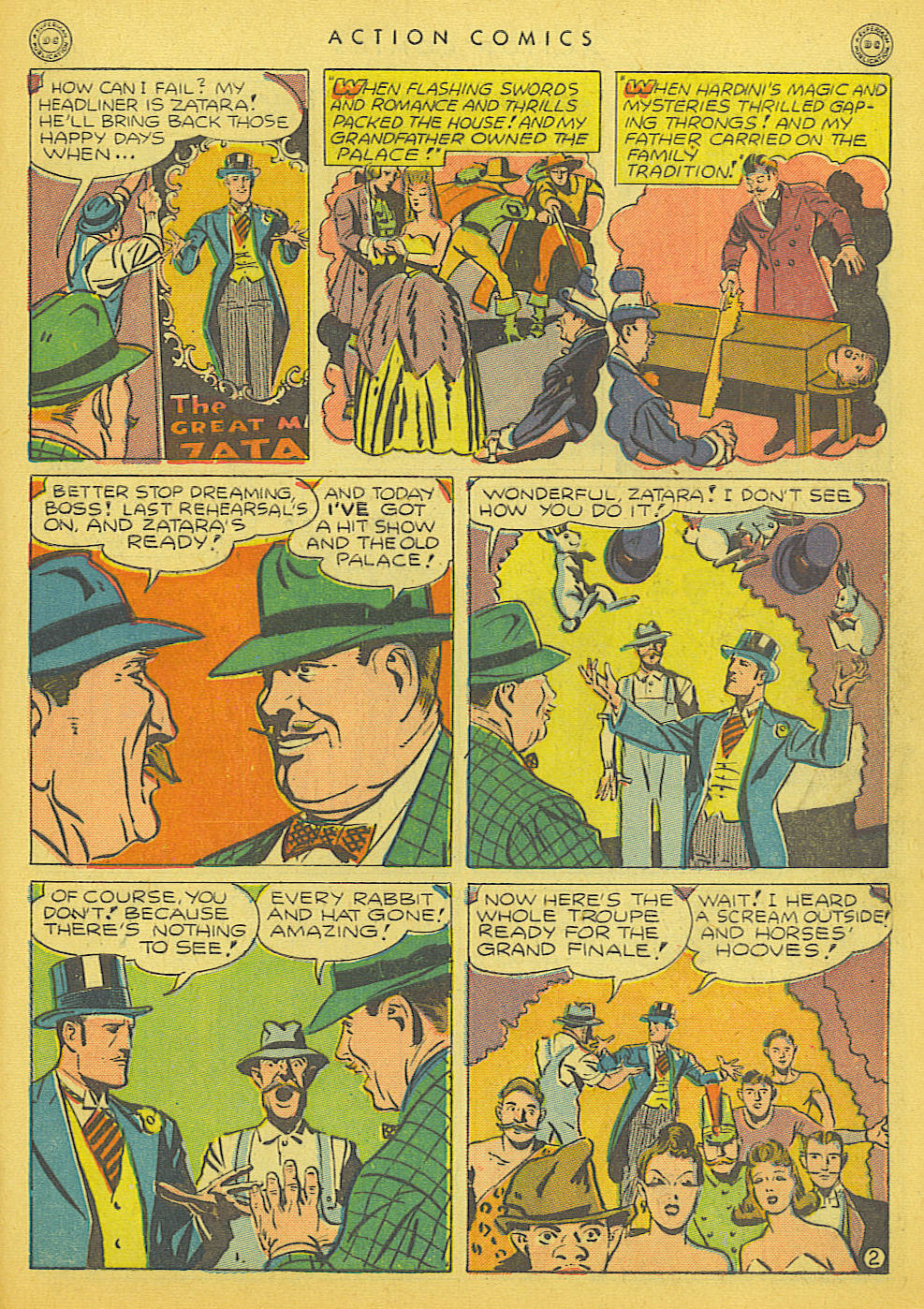 Read online Action Comics (1938) comic -  Issue #91 - 43