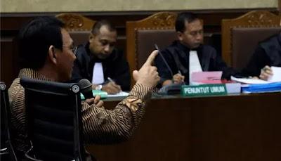 Dituntut Pidana Satu Tahun, Ahok Tidak akan Dipenjara