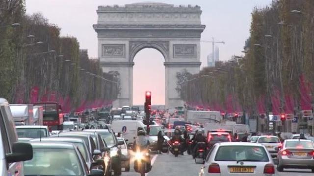 París, Grenoble, Lyon y Estrasburgo, restricción medioambiental