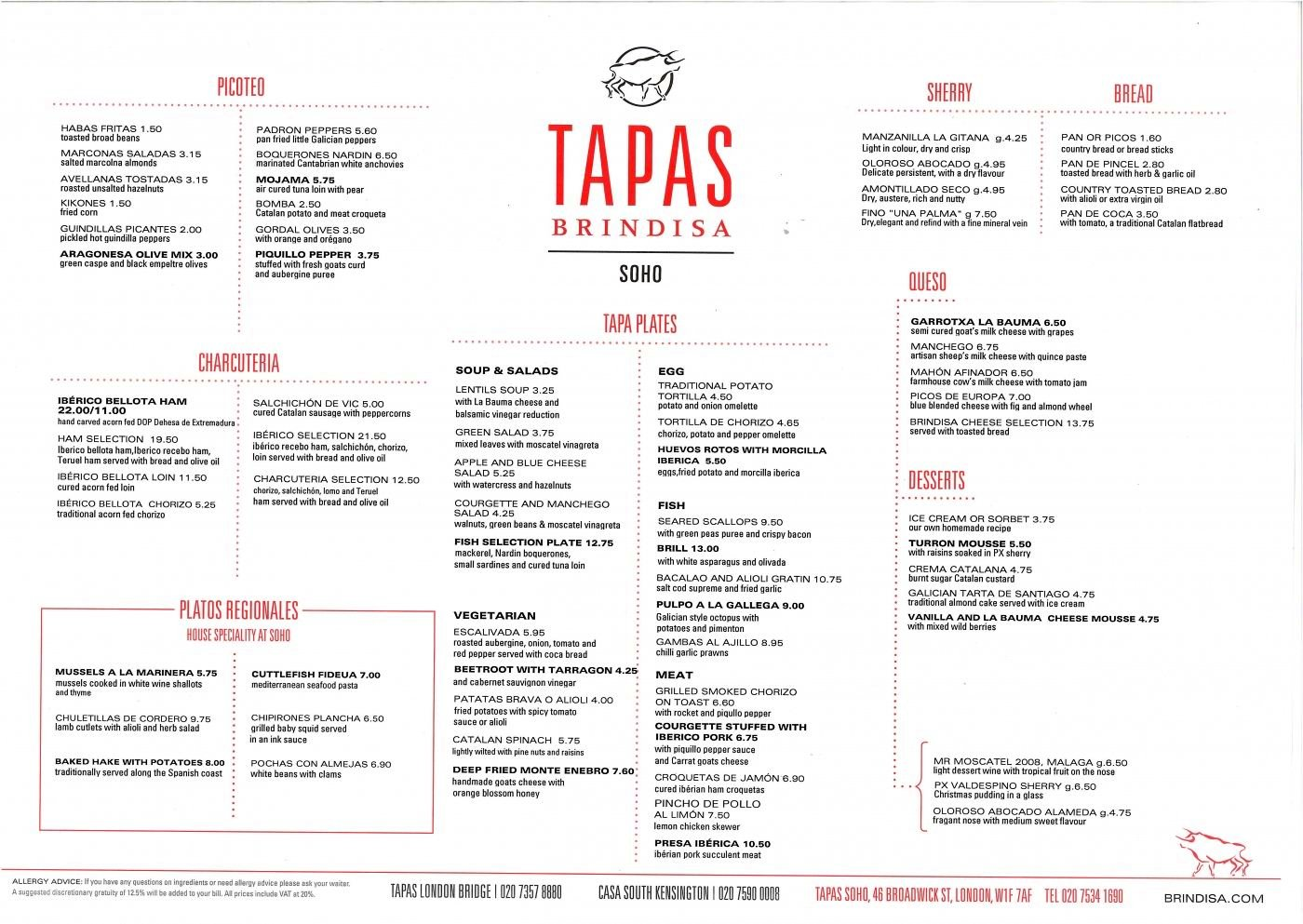 urbina vinos blog: brindisa tapas bar and restaurant in lodon