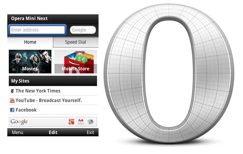 Opera mini para samsung chat