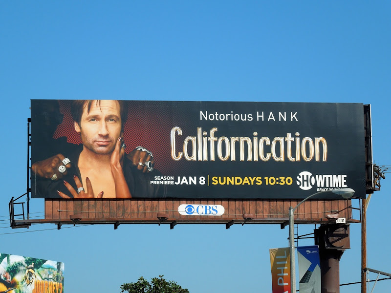 Californication 5 TV billboard