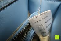 Etikett: Veevan Damen Elegante Top-Handle Schultertasche Handtaschen (Blau)