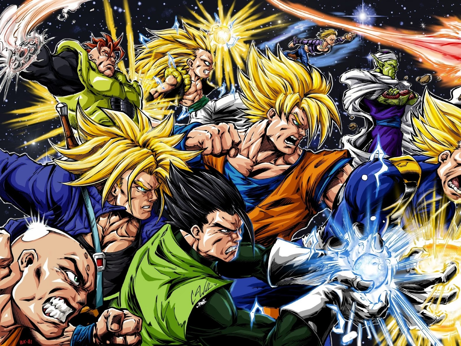 Dragon Ball Z Hd Wallpaper For Android: Ico Blogs: ... Android 16 Anime Dragon Ball Z HD Wallpaper