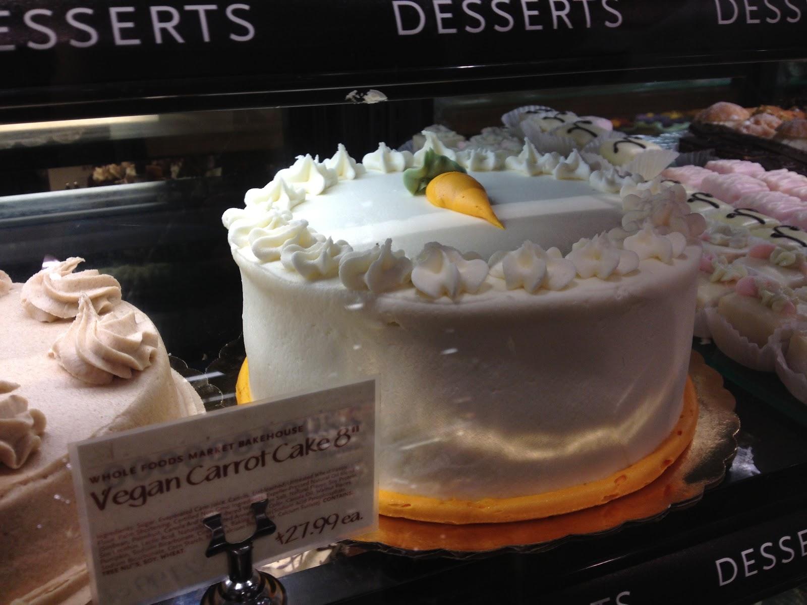 vegan cake whole foods Food