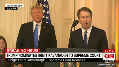 President Donald Trump announced on Monday his decision to nominate Brett Kavanaugh to fill the Supreme Court vacancy created by Justice Anthony Kennedy's decision to retire.