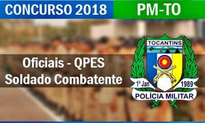 Concurso PM-TO 2017 - Tocantins