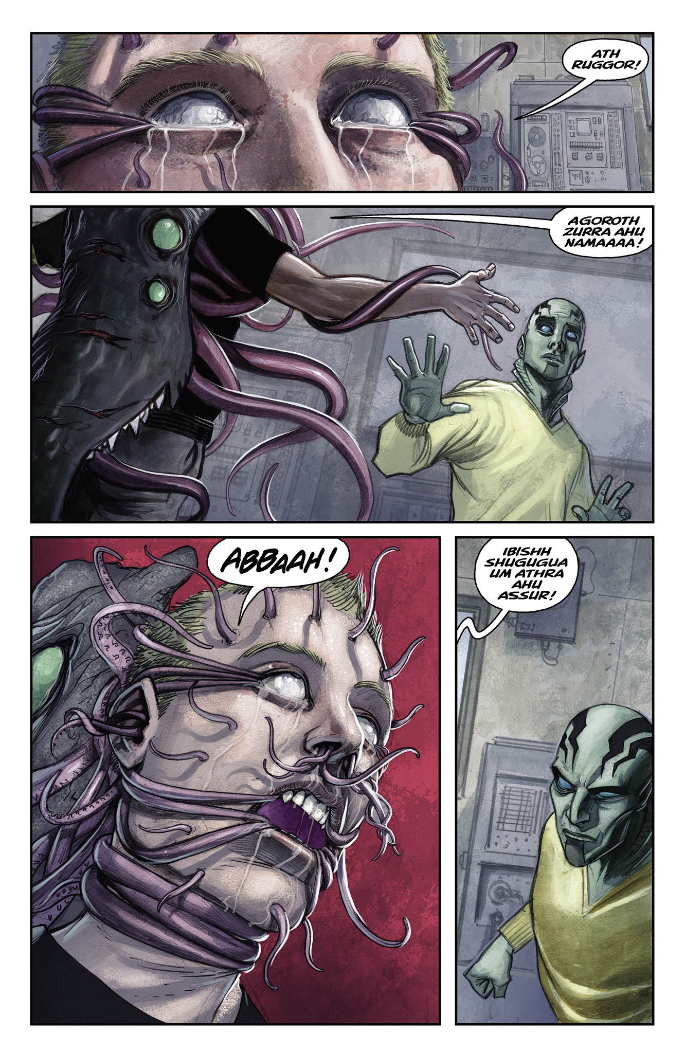 Read online Abe Sapien comic -  Issue #15 - 20