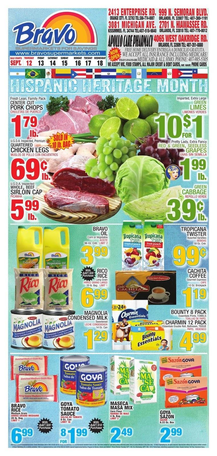 ⭐ Bravo Supermarkets Circular 9/19/19