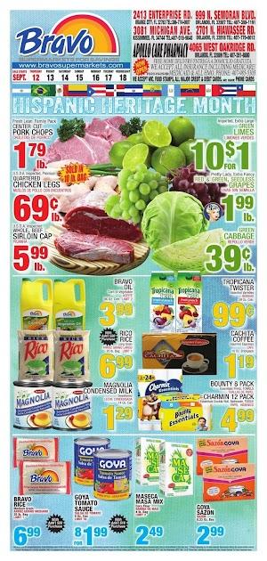 Bravo Supermarkets Ad Circular September 19 - 25, 2019