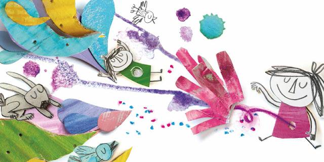 preciosa Ilustración del álbum ilustrado Vacío de Anna Llenas