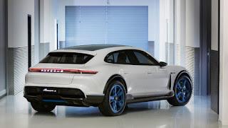 Porsche Cross Turismo concpet (Credit: Porsche) Click to Enlarge.