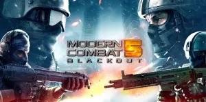 Modern Combat 5 Blackout APK MOD Terbaru