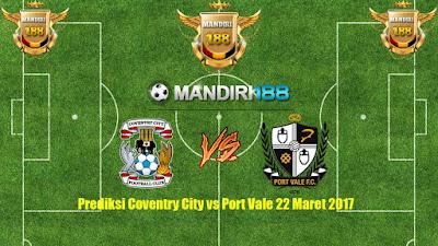 AGEN BOLA - Prediksi Coventry City vs Port Vale 22 Maret 2017