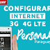 Configurar Internet APN 3G/4G LTE Personal Paraguay 2019