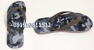 Sandal Rubber Sablon