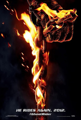 Ghost Rider: Spirit of Vengeance Theatrical One Sheet Teaser Movie Poster