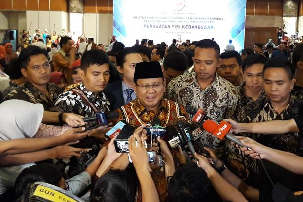 Alasan Prabowo Usung Jargon Make Indonesia Great Again
