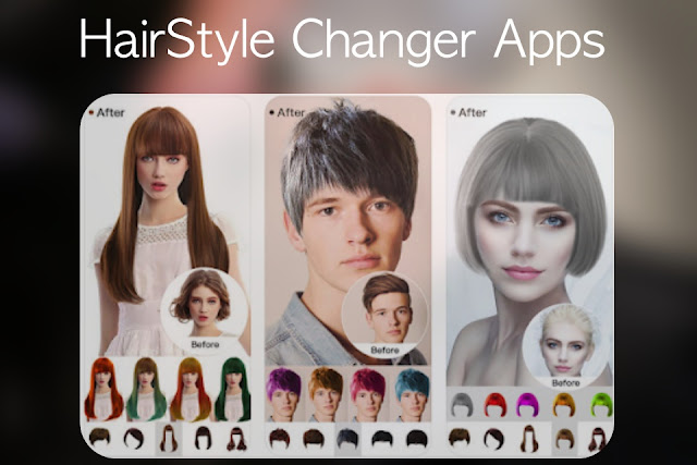 5 Best Hair Styler Apps To Try Different Looks Hairstyle Changer