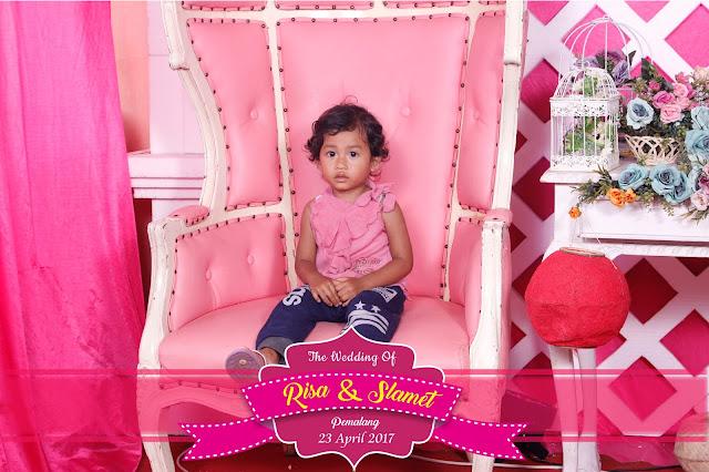 +0856-4020-3369 ; Jasa Photobooth Pemalang ~Wedding Risa & Slamet~