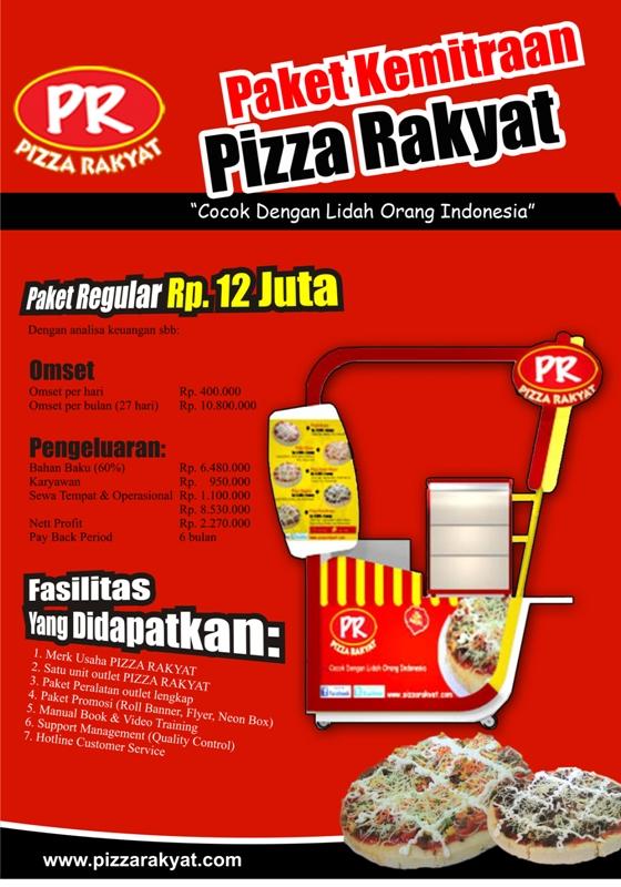 ide bisnis Franchise makanan pizza