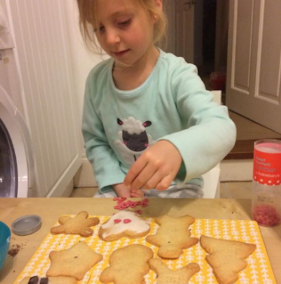 Lily baking