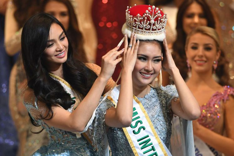 Wakili Indonesia, Kevin Lilliana Jadi Juara Miss International 2017