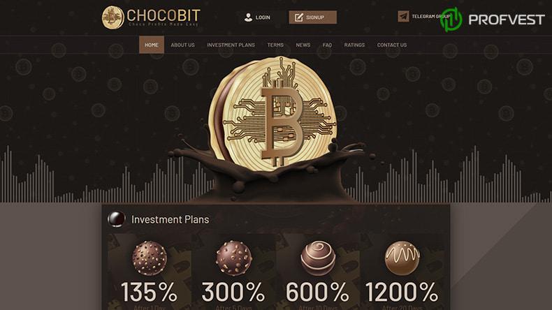 ChocoBit обзор и отзывы HYIP-проекта