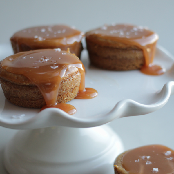 Delicious perfect salted caramel cheesecake recipe