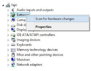 Cara mudah mengatasi baterai plugged in not charging pada laptop