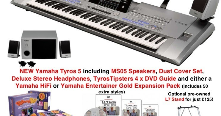 See our AMAZING deals on the LAST BRAND NEW Yamaha Tyros 5's in the