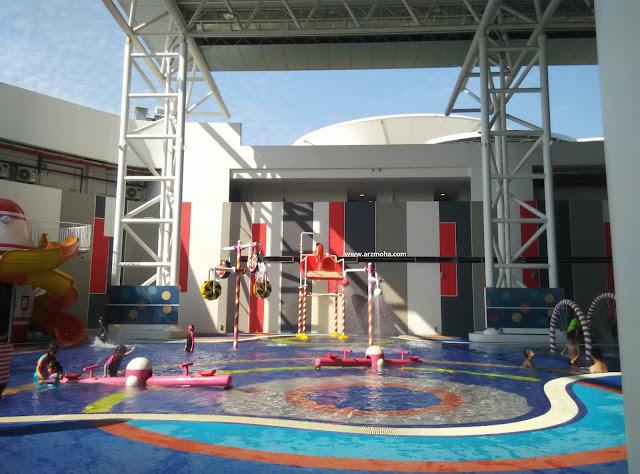 SPICE Aquatic Centre,Children Water Splash Pool, kolam kanak-kanak SPICE, tempat mandi kanak-kanak Spice Aquatic Centre,