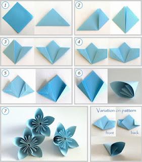 Cara Mudah Membuat Bunga Dari Kertas Wisata Nusantara