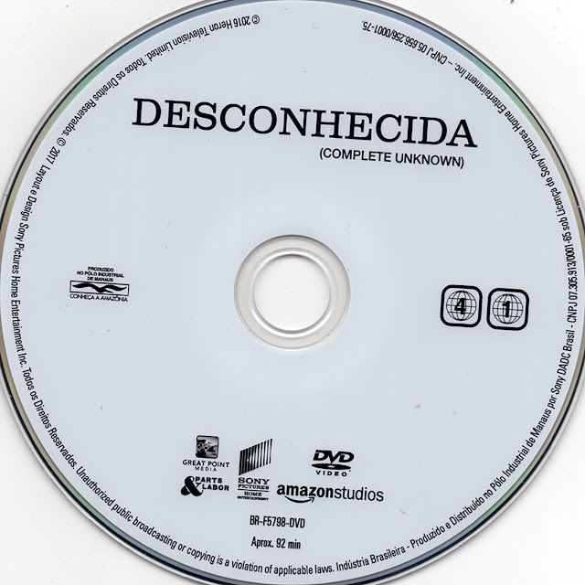 Label DVD Desconhecida (Oficial)
