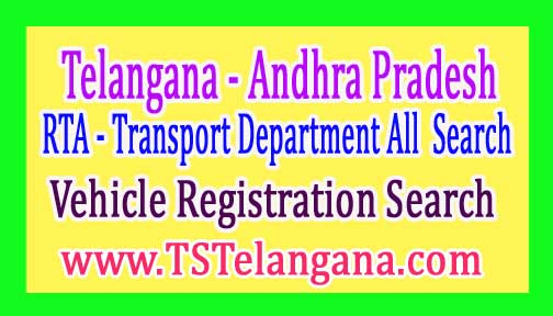 Telangana Andhra Pradesh Transport Department All  Search Details - RTA SERVICES