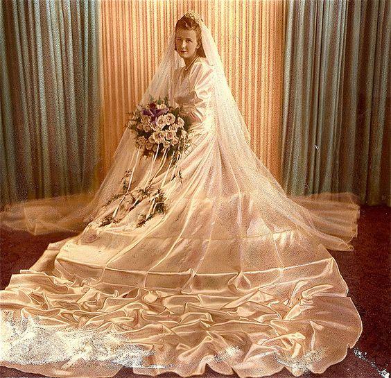 Vestido de noiva anos 40, casamento,