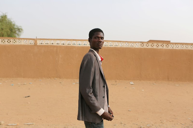 Mayango Jallah poses for a picture in Agadez, Niger, May 8, 2016. REUTERS/Joe Penney