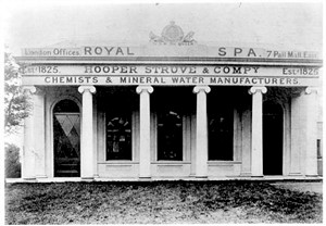 'German Spa'. Brighton. Photograph of the original facade of the spa. From a private collection