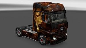 Lion Skin Pack All Trucks