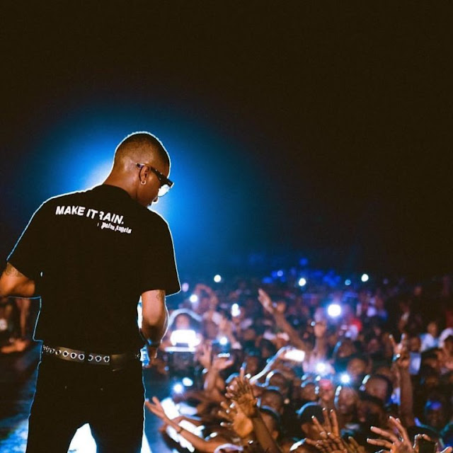 Wizkid thrills Abuja revellers in sold-out concert