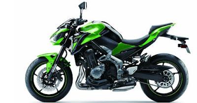 2017 Kawasaki Z900 side angle pics