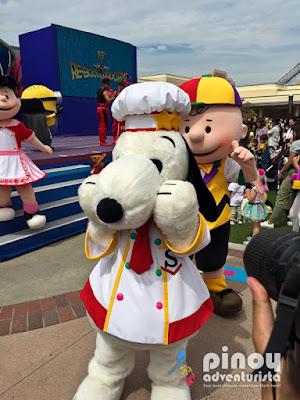 Attractions at Universal Studios Japan Osaka