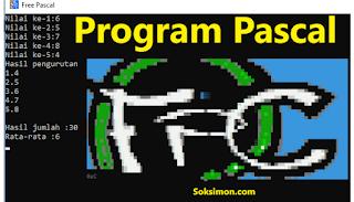 Contoh Program Perulangan Pascal Sederhana