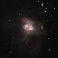 Interacting Galaxy NGC 5256