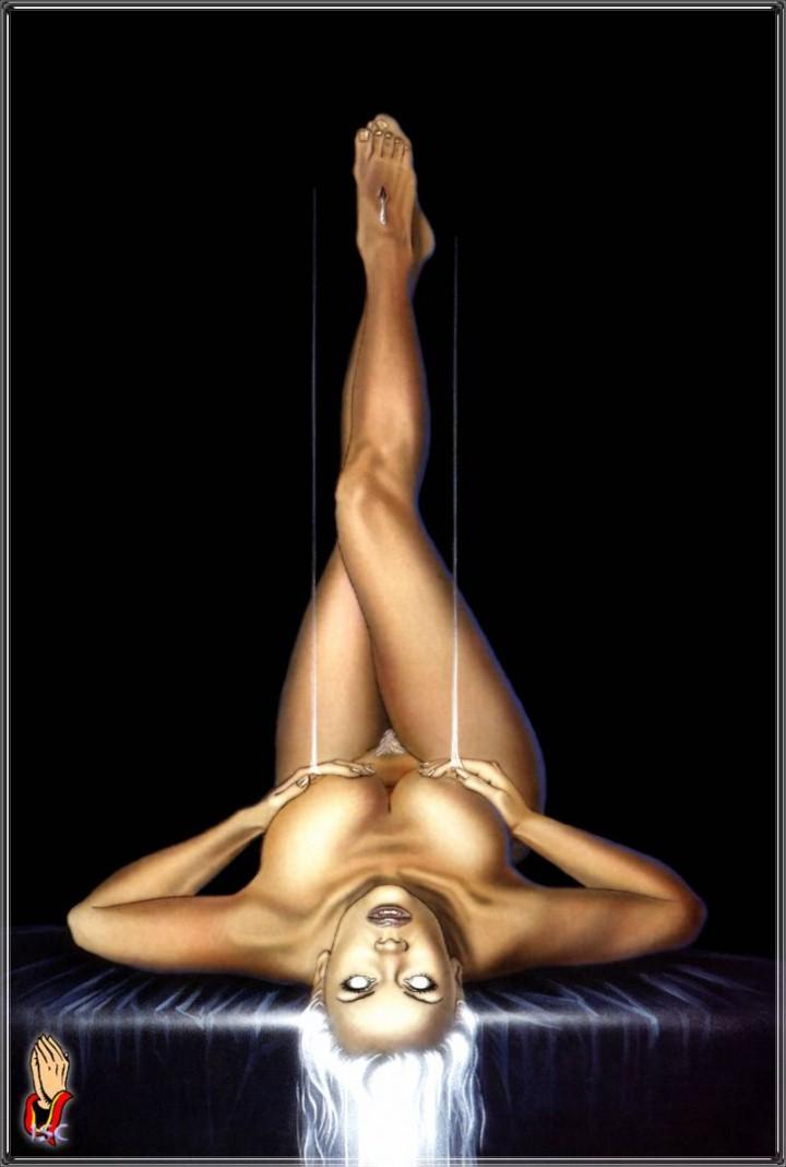 Художник Carlos Diez. Sexy Dreams Pin-ups 20
