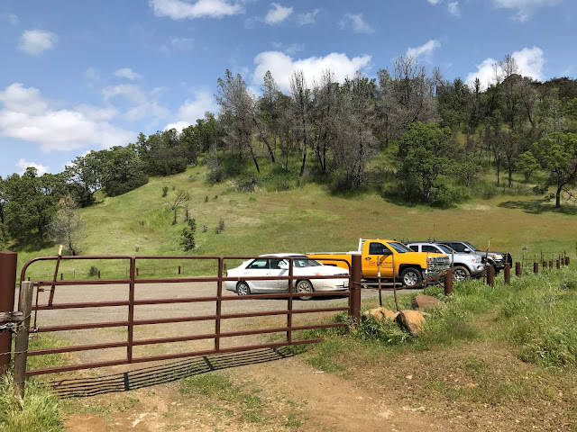 Lynch Canyon Trail Parking lot